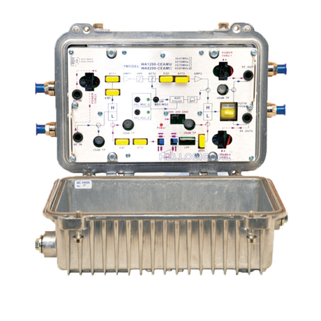 CATV Line Amplifier Outdoor Modular Bidirectional Amplifier WA-1200-CEAM
