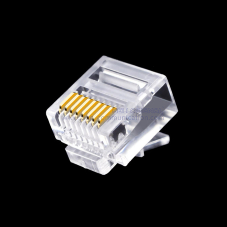 CAT5E UTP 8P8C Short RJ45 Connector