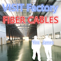 Take you to visit the factory Cable fibra óptica fiber optic cables production department outdoor cable adss cable