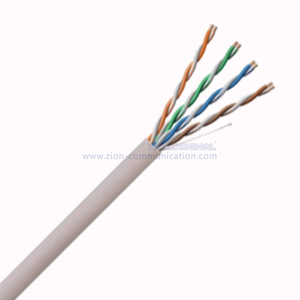 U/UTP CAT 5E BC PVC Twisted Pair Installation Cable