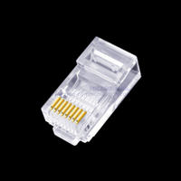 Cat5E UTP 8P8C PT RJ45 connector