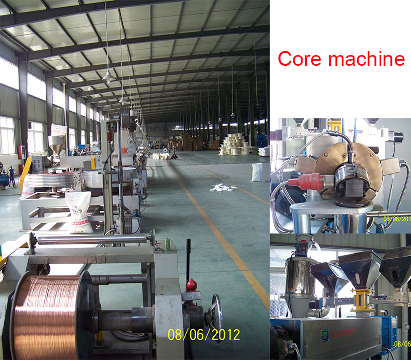 coaxial cable produce machine 3