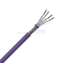 S/FTP CAT 6A Twisted 4 Pair Patch Cord
