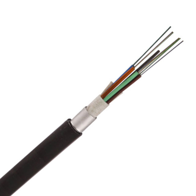 Fiber Optic Outdoor Cable,GYTA G.652.D Fiber,Stranded Loose Multi-Tube,Aluminum Polyethylene Laminate(APL) Armoring,Single PE Jacket cable