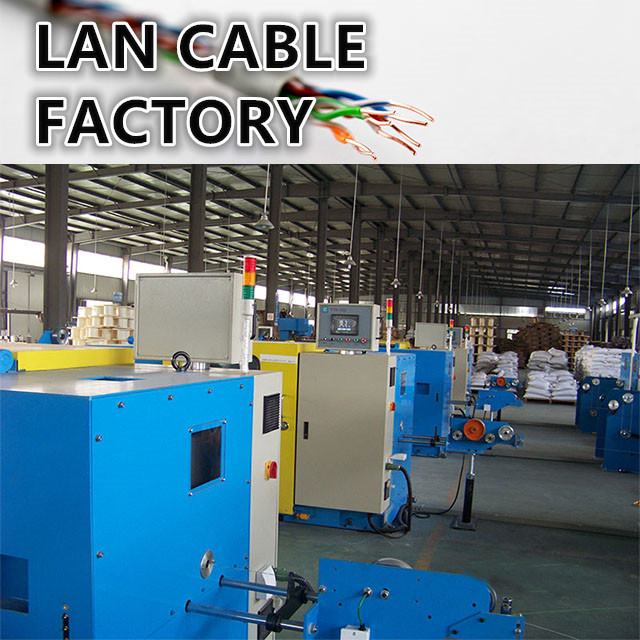 Take you to visit the Lan cable factory production department network ethernet Category 5e cable Cat 6 CAT 6A 7