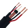 КВК-П-2Э+2х0.75+ support wire 75 Ohm CCTV coaxial Cable