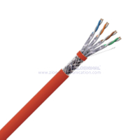 S/FTP CAT 7A BC PVC Twisted Pair Installation Cable