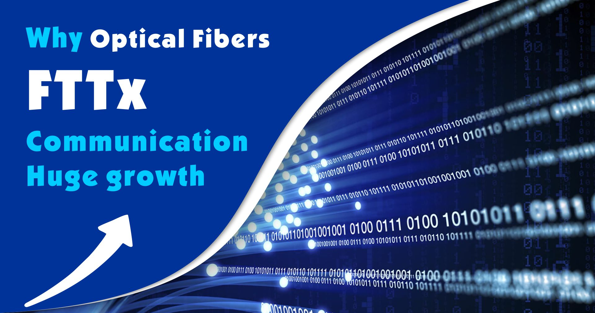 Analysis Why Optical Fibers FTTx Communication Huge growth
