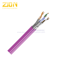 U/FTP CAT 6A BC PVC Twisted Pair Installation Cable