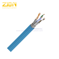 S/FTP CAT 7A BC PE Twisted Pair Installation Cable