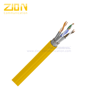 S/FTP CAT 7 BC PVC CMR Twisted Pair Installation Cable